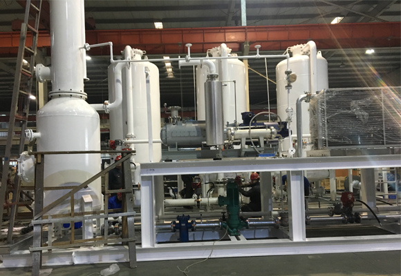 科威尔1800m³螺杆干泵用于油气回收装置
