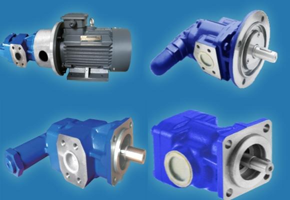 低压斜齿轮泵